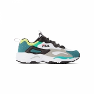 Fila Ray Tracer Men black-everglade-lime grün