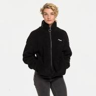 Fila Sari Sherpa Fleece Jacket black Bild 1