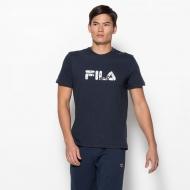 Fila Shirt Logo Cotton blau