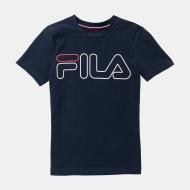 Fila Shirt Ricki Kids peacoat blau