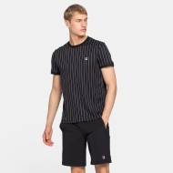Fila Shirt Stripes black schwarz