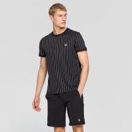 Fila Shirt Stripes black schwarz