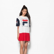 Fila Sky Tee Dress white blau
