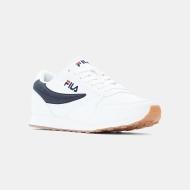 Fila Sneaker Orbit Low Men white-blue weiß-blau