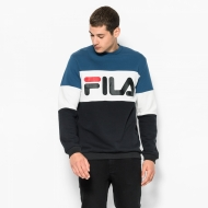 Fila Straight Blocked Crew blau