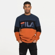Fila Straight Blocked Crew black-iris Bild 1