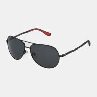 Fila Sunglasses Aviator 531P schwarz-rot