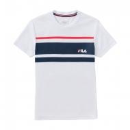 Fila T-Shirt Trey Boys weiß
