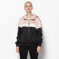 Fila Teela Track Hooded Zip pink