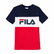 Fila Teens Classic Day Blocked Tee dunkelblau
