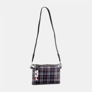 Fila Transparent Cross Body Bag black-tartan-aop schwarz