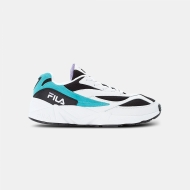 Fila V94M Low Men white-black-curacao schwarz-weiß