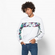 Fila Walter Oil Slick Graphic Stripe Crew Bild 1