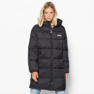 Fila Zia Long Puff Jacket schwarz