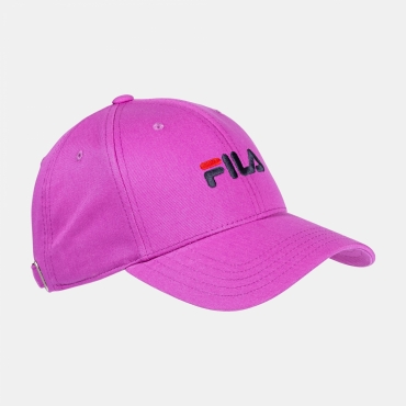 Fila 6 Panel Cap With Linear Logo/ Strap Back
