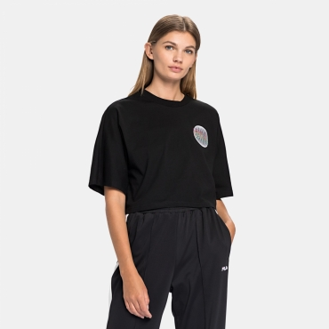 Fila Anemore Cropped Wide Tee black