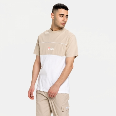 Fila Anoki Blocked Tee oxford-tan