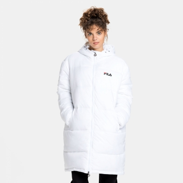 Fila Bronwen Puff Hood Jacket white
