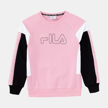 Fila Carina Crew Sweat lilac-black-white