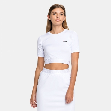Fila Caylin Cropped Tee white