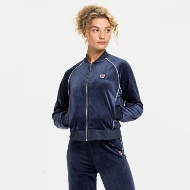 Fila Chan Velvet Track Jacket