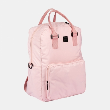 Fila Coated Canvas Convertible Mid Backpack coral-blush