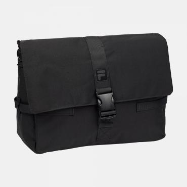 Fila Coated Canvas Messenger Bag black