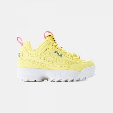 Fila Disruptor Kids QQ Wmn wax-yellow