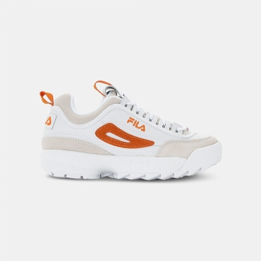 Fila Disruptor Low Wmn white-orange
