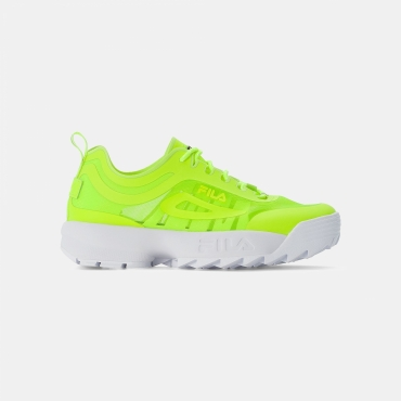 Fila Disruptor Run Men neon-lime