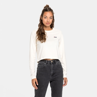 Fila Eaven Cropped Long Sleeve eggnog