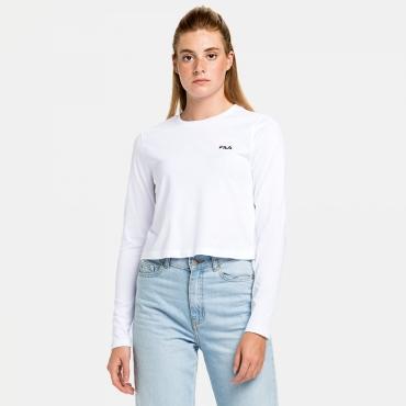 Fila Ece Cropped Longsleeve Shirt white