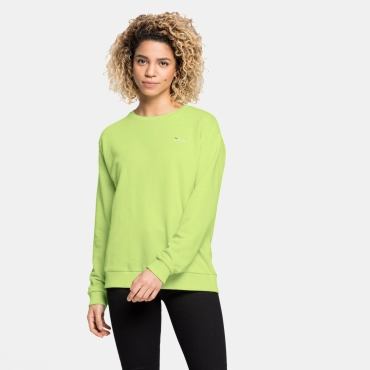 Fila Effie Crew Sweat sharp-green