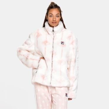 Fila Haruto AOP Fake Fur Jacket