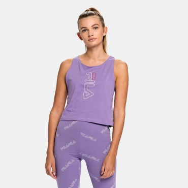 Fila Jandira Cropped Tank Top Wmn purple-haze