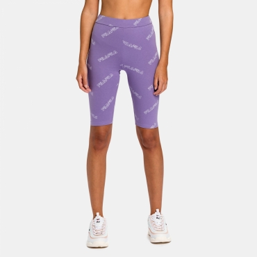 Fila Janelle AOP Shorts Leggings purple-haze