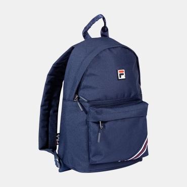 Fila Kids Backpack S´Cool Two Small Heritage Stripe black-iris