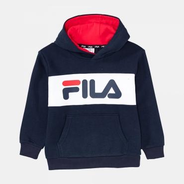 Fila Kids Ben Logo Hoody black-iris