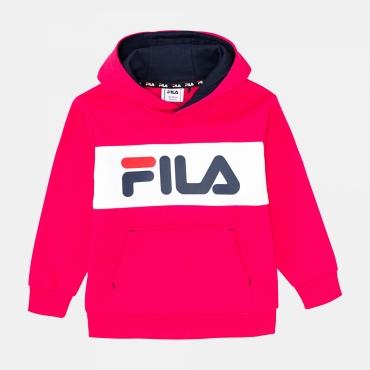 Fila Kids Ben Logo Hoody bright-rose