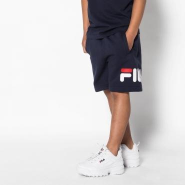 Fila Kids Classic Basic Shorts black-iris