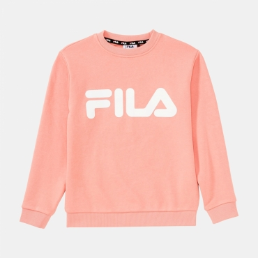 Fila Kids Classic Logo Crew Sweat lobster-bisque
