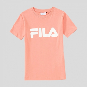 Fila Kids Classic Logo Tee lobster-bisque
