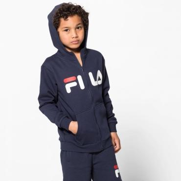 Fila Kids Classic Logo Zip Hoody