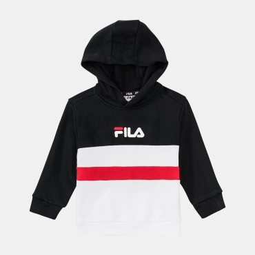 Fila Kids Ellanah Hoody black-white-red