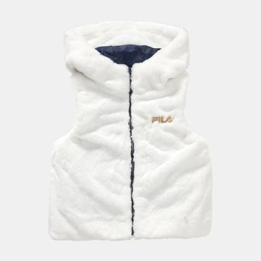Fila Kids Greta Faux Fur Vest