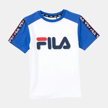Fila Kids Luigi Taped Logo Tee
