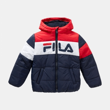 Fila Kids Lynn Puff Jacket navy-red-white