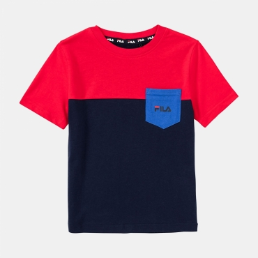 Fila Kids Marco Blocked Tee