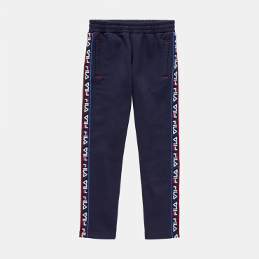 Fila Kids Matteo Taped Track Pants black-iris