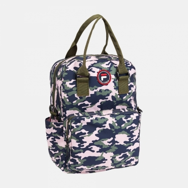 Fila Kids Mini Backpack Coated Printed Camo rose-camo